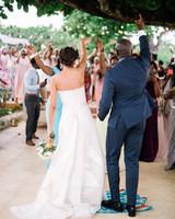 porsha terry wedding jamaica reception bride groom dancing