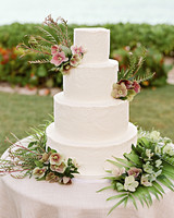 elizabeth sohale wedding dominican republic cake