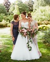 emer cooper wedding wisconsin mother sister bride