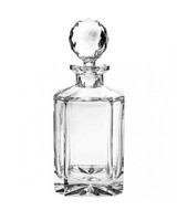 hollowware anniversary gifts whisky bottle bohemia jihlava