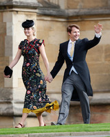 james blunt and sofia wellesley at princess eugenie's royal wedding