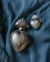 heart votive lockets