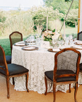 stephanie philip wedding maryland reception table