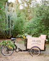 Tenley molzahn taylor leopold wedding icecream cart