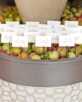 Apple Barrel Place Cards