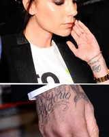 David and Victoria Beckham's Couple Tattoos