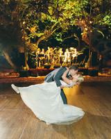 Emma mike California wedding Corbin gurkin first dance