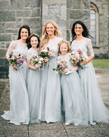 simone darren wedding ireland bridesmaids flower girls