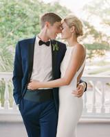 christina matt wedding charleston sc couple embrace