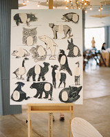 animal seating display