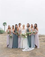 Emma mike California wedding Corbin gurkin bridesmaids