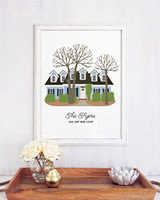 miss design berry custom new home art print