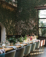 the foundry vine covered eating space