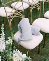 kelsey joc wedding santa barbara california wraps chair
