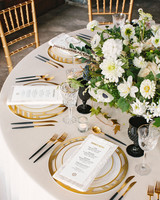 tory sean wedding lake placid new york table setting