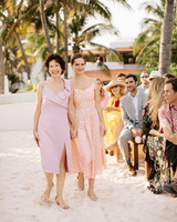 ariel trevor wedding tulum mexico mother sister bride