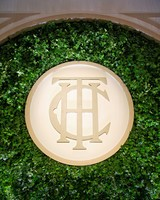 monogram ivy backdrop