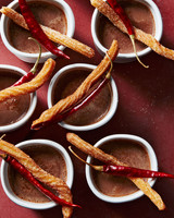 Fall Dessert Ed Churros With Mexican Hot Chocolate