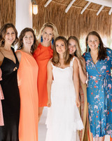 ariel trevor wedding tulum mexico friends of the bride
