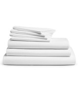 cotton anniversary gift luxe sheets white