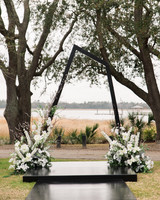 hamida charlie charleson wedding asymmetrical ceremony