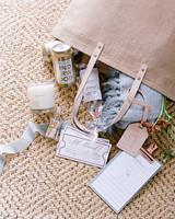 kelsey joc wedding santa barbara california welcome bag