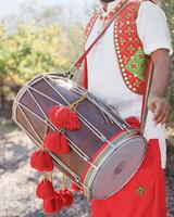 jenna alok wedding wine country california musician drum