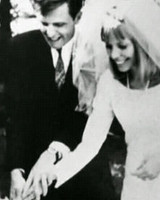 Chuck and Joni Mitchell Wedding Photo
