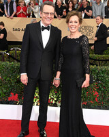 longest celebrity relationships bryan cranston robin dearden getty