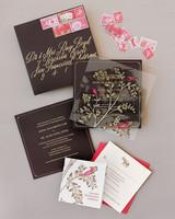 jenna alok wedding wine country california invitation suite