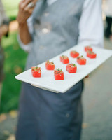 summer wedding details alison events appetizer