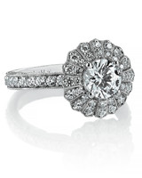 Evelyn H Jewelry vintage-inspired engagement ring
