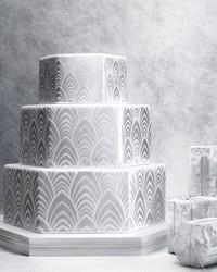 8 Platinum Wedding Cakes Ideas