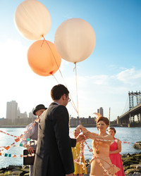 A Vibrant, Whimsical Vintage Wedding in Brooklyn, New York