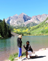A Surprise Weekend Getaway Led to This Proposal Before a Dream Backdrop