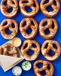 3 Pretzel Dipping Sauces to Serve at Your Cocktail Hour