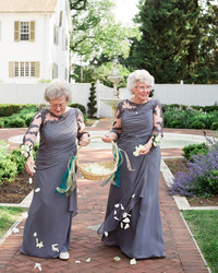 These Grandmas as Flower Girls Will Totally Melt Your Heart