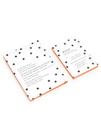 An Easy Way to Personalize Your Wedding Stationery: Edged Invitations