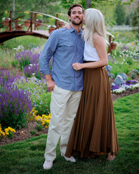 Pauline and Peter's Rustic Rehearsal Dinner in Sun Valley, Idaho