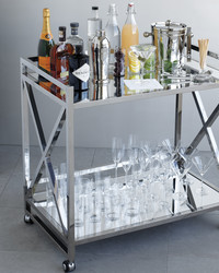 Party on Wheels! 4 Ways to Customize a Bar Cart
