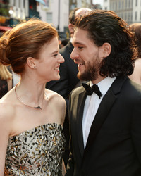 Kit Harington and Rose Leslie Are Officially Engaged!