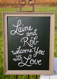 45 Creative Wedding Signs