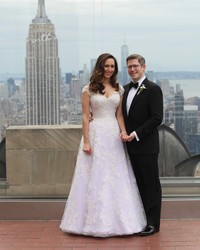 "This Is What Happens When the Costume Supervisor for ""Saturday Night Live"" Creates Your Wedding Dress"
