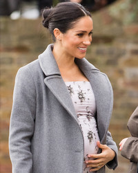 Meghan Markle Is in Labor with the Royal Baby