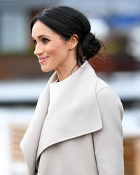 Here's How to Recreate Meghan Markle's Signature Loose Bun on Your Wedding Day