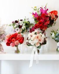 Pretty Bouquets Inspired by Fall 2018 Bridal Fashion Week