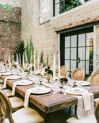 """This Dreamy Wedding Tablescape Gives New Meaning to """"Rustic Chic"""""""