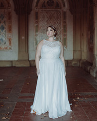 A Bridal Salon Founder's Best Plus-Size Wedding Dress Shopping Tips