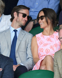 Pippa Middleton Just Checked Out the Progress on Her Wedding Flowers
