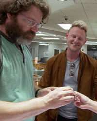 "Watch the ""Queer Eye"" Guys Help a Groom Pull Off an Epic Proposal"